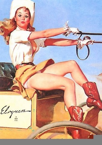 Изображение 18. Pin up girls love cars, airplans and motorcycles.. Изображение № 18.