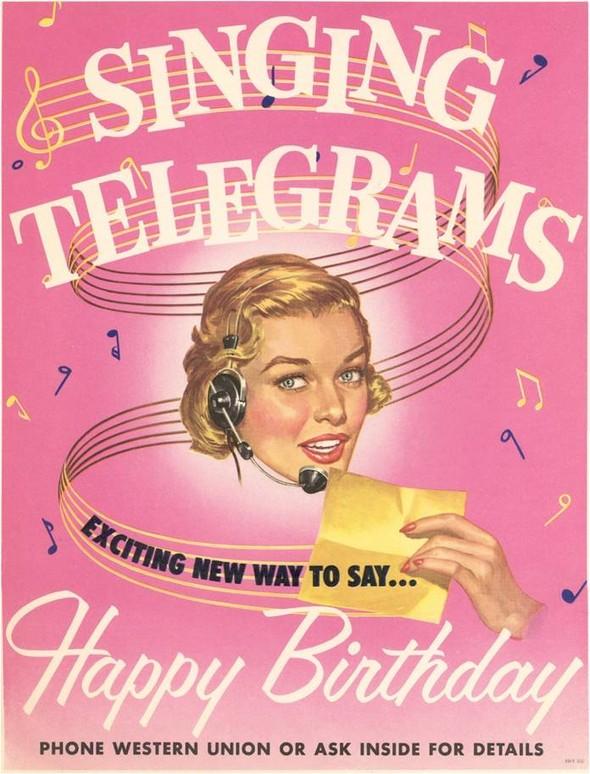 «Поющие телеграммы» - снова в силе, снова в моде. Изображение № 1.