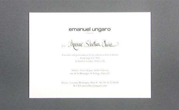 Изображение 30. Womenswear collections S/S 2011: show invitations.. Изображение № 30.