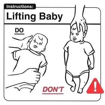 Инструкция поэксплуатации младенца. Изображение № 2.