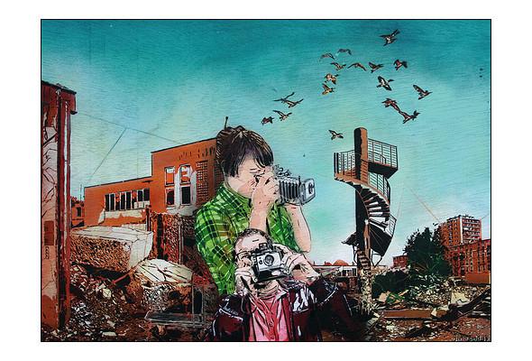 Изображение 50. Le стрит-арт.. Изображение № 70.