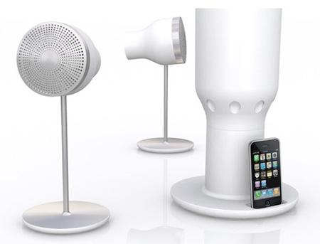 Пожалуй, самая нестандартная акустика дляiPodiPhone. Изображение № 1.