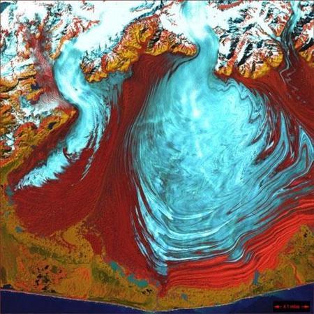 Фотографии Земли, снятые соспутников NASA. Изображение № 1.