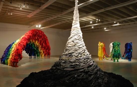 Изображение 4. Recycling Clothing Art.. Изображение № 4.