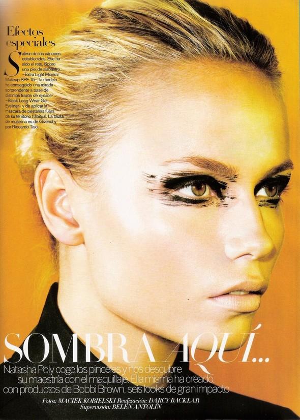 Съёмка: Наташа Поли для испанского Vogue. Изображение № 2.
