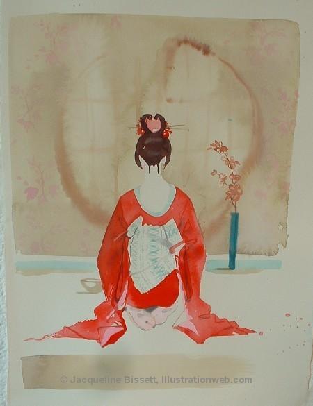 Иллюстратор Жаклин Биссет. Изображение № 5.
