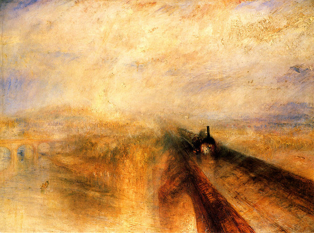 «Дождь, пар и скорость» — одна из самых знаменитых картин Уильяма Тёрнера. Изображение № 3.