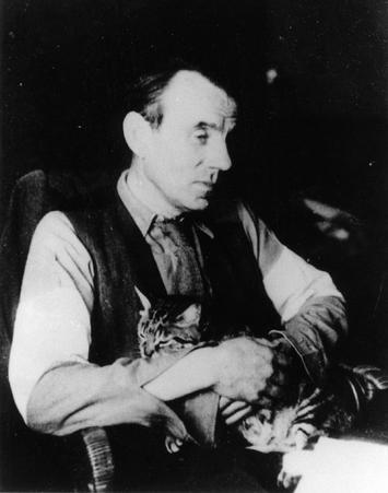 Знаменитые писатели и котики. Изображение № 19.