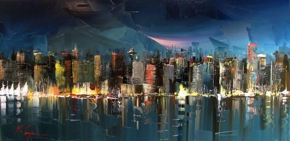 Красные зонтики художника Kal Gajoum. Изображение № 21.