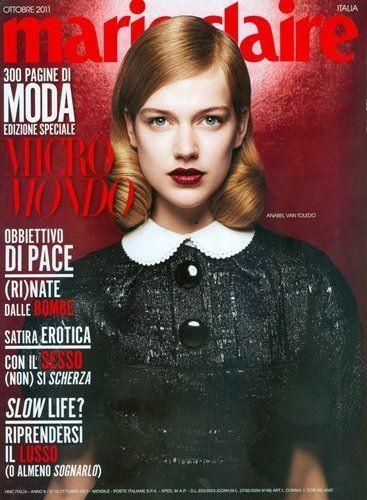 Обложки октября: Elle, Marie Claire, Interview и другие. Изображение № 16.
