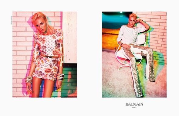 Превью кампаний: Balmain, Isabel Marant и Moschino. Изображение № 1.