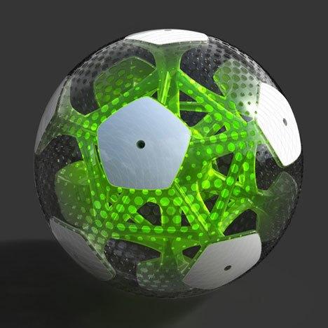 Мексиканские дизайнеры разработали футбольный мяч будущего. Изображение № 1.