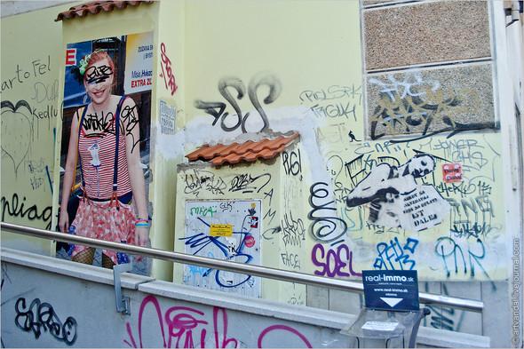 Стрит-арт и граффити Братиславы, Словакия. Изображение № 33.