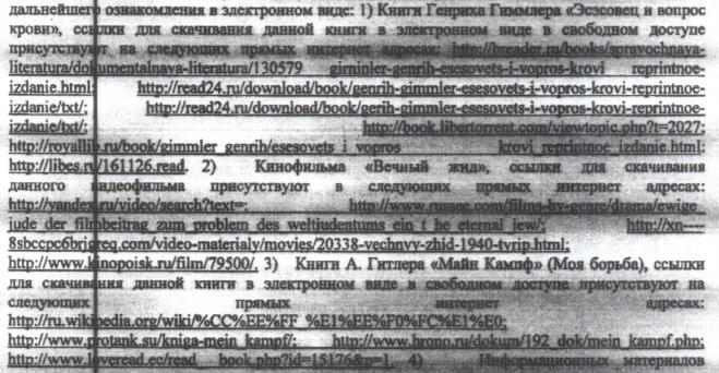Скриншот из опубликованного на  «Википедии» решения суда. Изображение № 1.