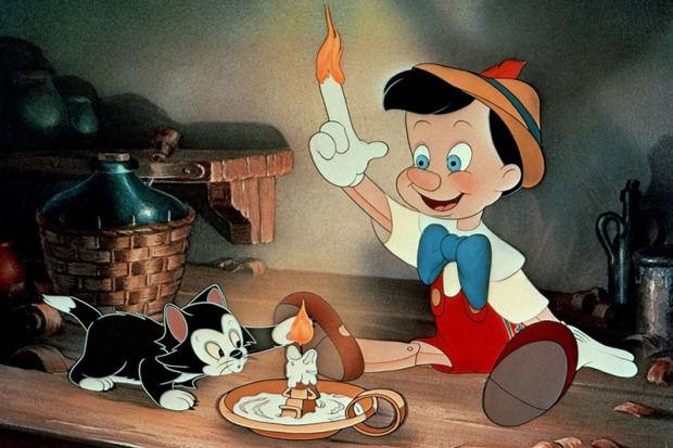 Кадр из экранизации Пиноккио . Изображение № 3.