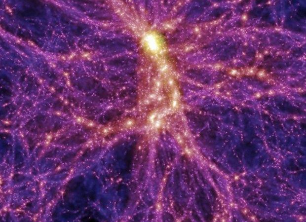 Светодиодная подсветка деревьев как наглядная модель Вселенной. Изображение № 2.