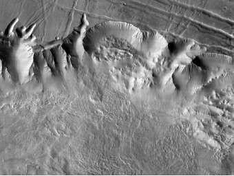 В Сеть выложили самую точную карту Марса. Изображение № 1.