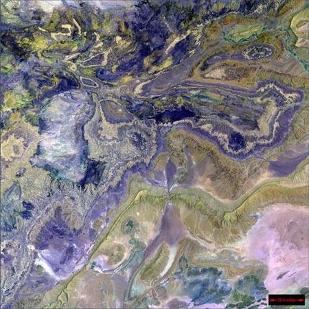 Фотографии Земли, снятые соспутников NASA. Изображение № 19.