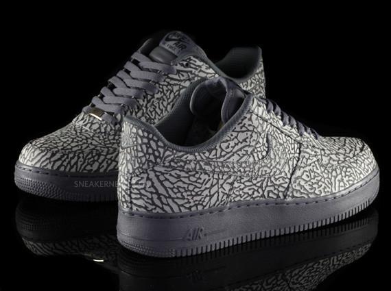 Nike Air Force 1 iD Elephant Print – Sneaker News Editions. Изображение № 4.