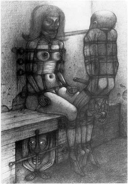 Архив работ Ждислава Бексински. Изображение № 27.