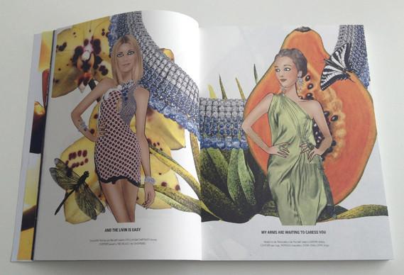 Журнал о моде Herself: только иллюстрации и никаких фотографий. Изображение № 7.