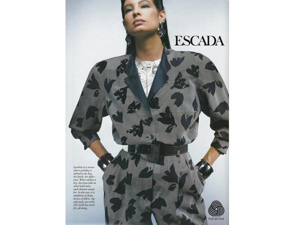 Рекламная кампания Escada 1987 . Изображение № 44.
