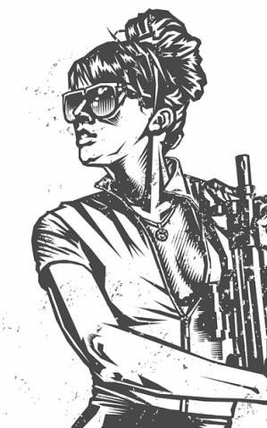 Девушки с оружием от Frank Barbara. Изображение № 33.