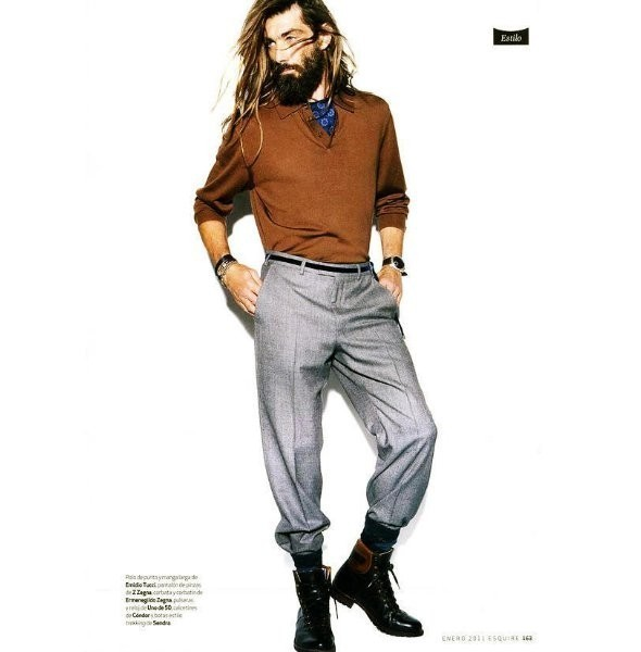 Изображение 11. Новые мужские съемки: Vogue Hommes, GQ и другие.. Изображение № 21.