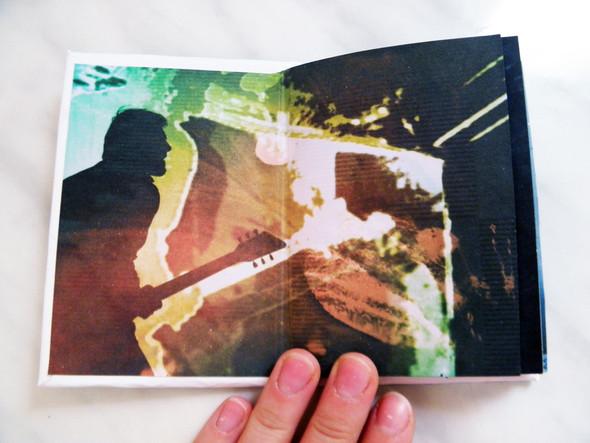 Самодельная книжка о творчестве Дельфина. Изображение № 3.