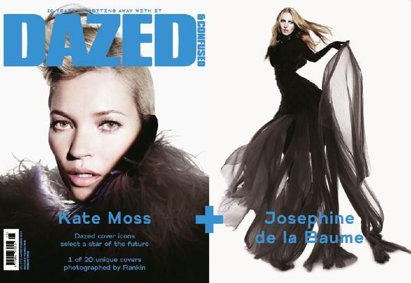 Обложки: Кейт Мосс, Хлое Севиньи, Ева Грин и другие для Dazed & Confused. Изображение № 1.