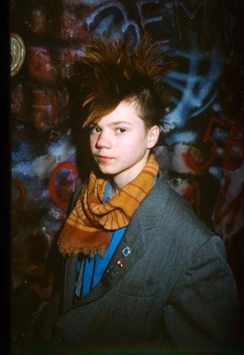 Фото, попавшее наобложку журнала  TheFace. Стилист Гарри Асса. 1986.  Фото: Сергей Борисов. Изображение № 7.
