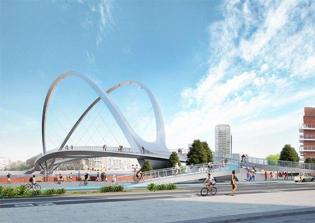 Выложены 74 проекта нового моста через Темзу. Изображение № 28.
