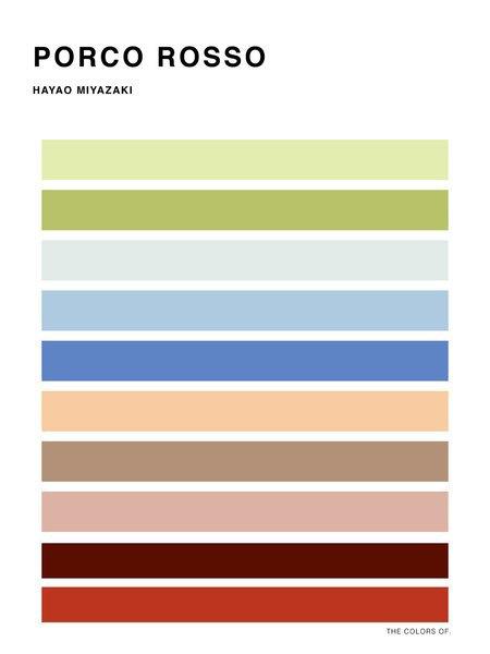 Дизайнер выбрал цвета из фильмов Миядзаки и Disney. Изображение № 4.