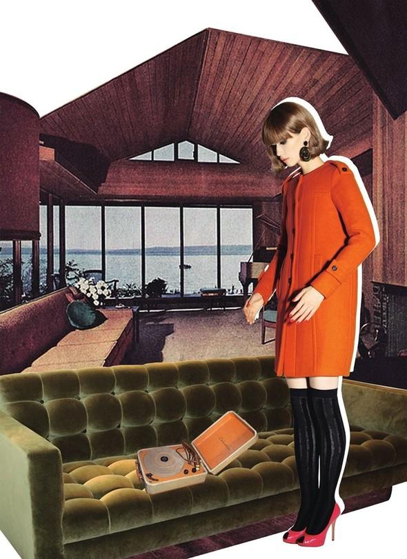 """Съемка: сет """"60s Bang Bang"""" в корейском Harper's Bazaar. Изображение № 10."""