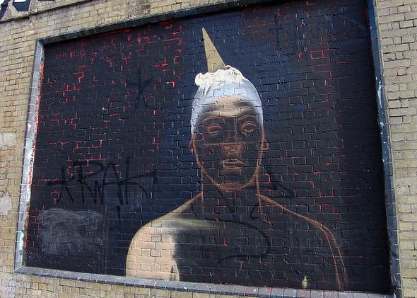 Стрит-арт в Лондоне. Изображение № 46.