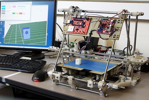 Фабрикаторы: трехмерный принтер, скатерть-самобранка и домашнее производство вообще всего. Изображение № 6.