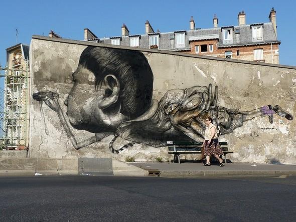 Стрит-арт в Париже. Изображение № 12.
