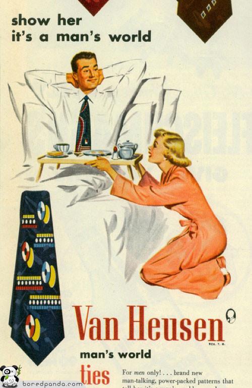 Винтажная реклама, которая бы сегодня оказалась под запретом. Изображение № 8.