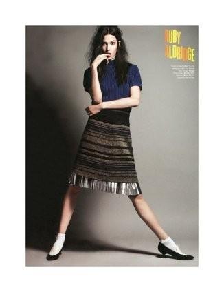 Рекламная кампания Blugirl Fall 2011. Изображение № 66.