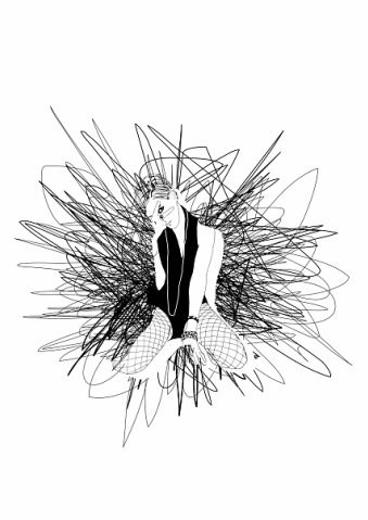 """ФЕЕРИЧЕСКАЯ КНИГА ПРО МОДУ :""""Конфеты и фантики"""". Изображение № 7."""