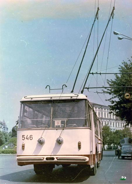 Первые троллейбусы. Изображение № 38.