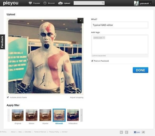 Instagram без iPhone. 7 веб-аналогов. Изображение № 11.