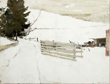 Andrew Wyeth- живопись длясозерцания иразмышления. Изображение № 32.