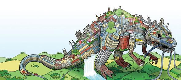DIY-лого своего города. Изображение № 1.