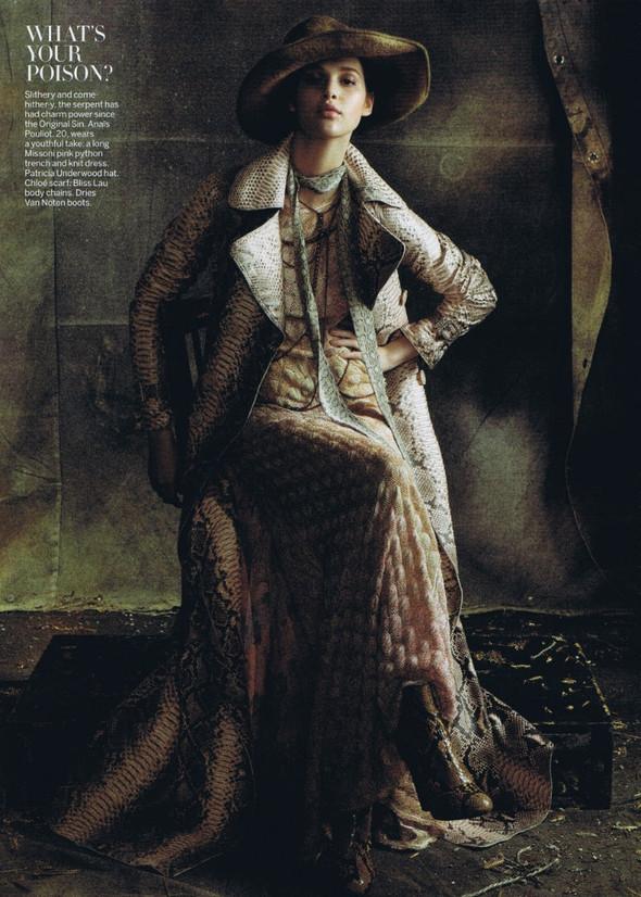 Съёмка: Стивен Майзел для американского Vogue. Изображение № 5.