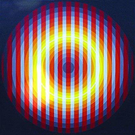 Оп-арт. Оптическое искусство. Изображение № 18.