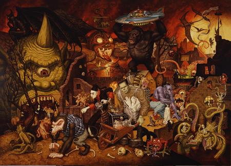 Эйсид-поп сюрреализм Тодда Шорра. Изображение № 49.