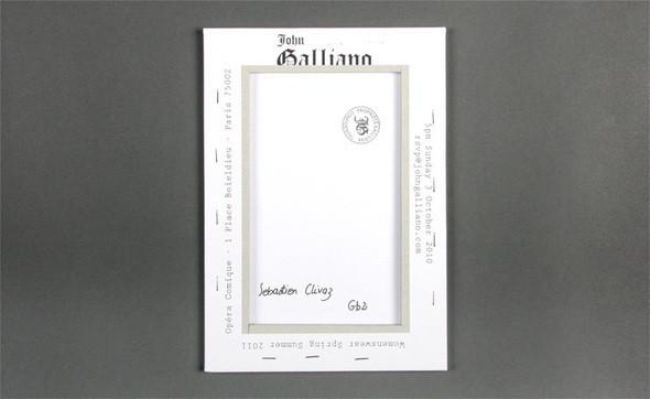 Изображение 47. Womenswear collections S/S 2011: show invitations.. Изображение № 47.