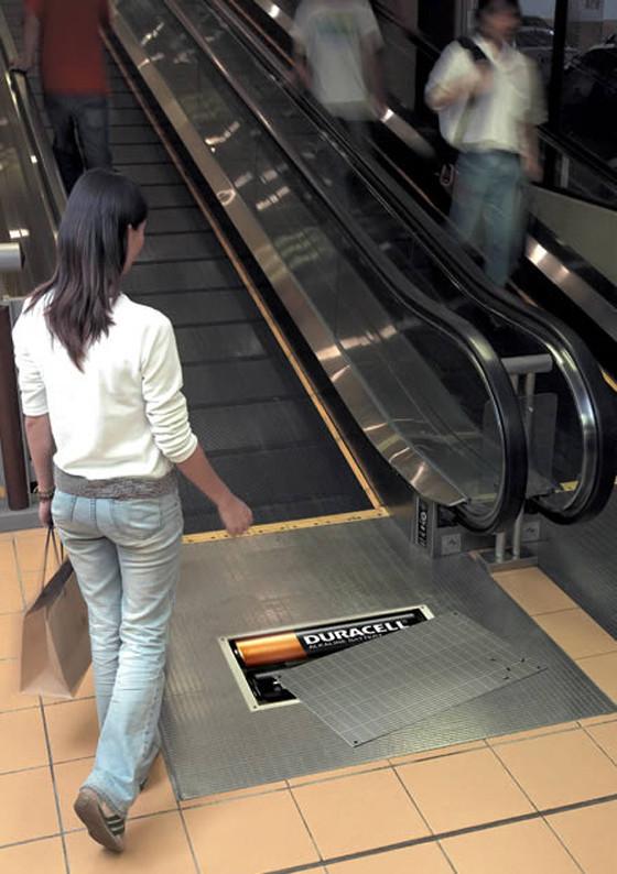 Эскалатор как новое медиа. Изображение № 1.