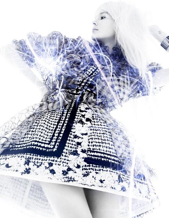 5 новых съемок: Elle, Harper's Bazaar, Numero и Vogue. Изображение № 11.